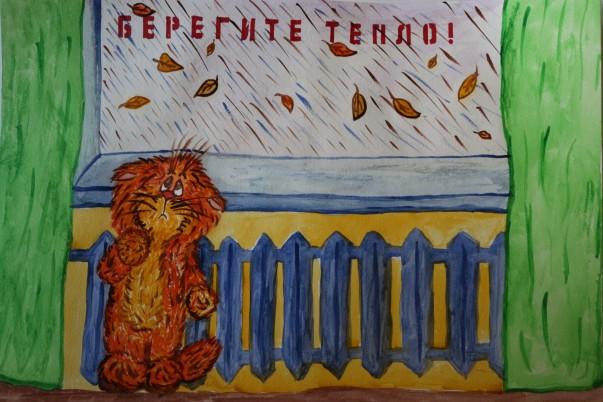 Лукояновский р-он, Воробьева Ксения, 6 лет, рисунок
